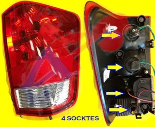 Picture of TAIL LAMP 04-10 RH (WITH 4 SOCKETS) TITAN