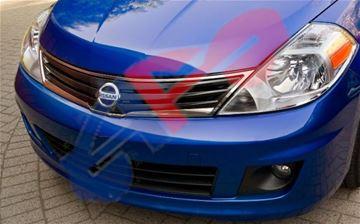 Sedan 07-11 Hood Latch for Nissan Versa 07-12 Steel Hatchback//