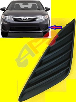 Picture of FOG LAMP COVER 12-14 LH W/O FOG BLK CAMRY L,LE,XLE,HYBRID
