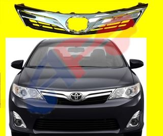Picture of GRILLE 12-14 CHR/BLK LE/XLE CAMRY