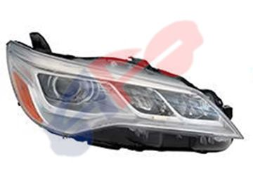 Picture of HEAD LAMP 15-17 RH HID CHR CAMRY XLE
