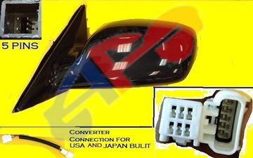 Picture of MIRROR 02-06 LH PTD PWR HT NON-FOLD CAMRY