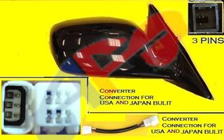 Picture of MIRROR 02-06 RH PTD PWR NON-FOLD CAMRY