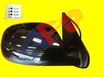 Picture of MIRROR 01-07 RH PTD PWR MAN-FOLD SR5 SEQUOIA/03-06 D-CAB LIMITED TUNDRA