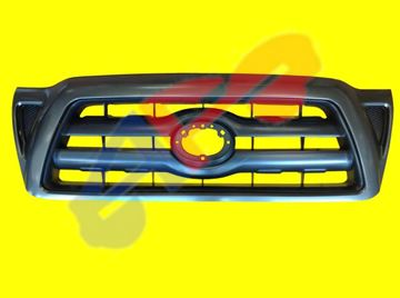 Picture of GRILLE 05-11 GRAY/BLACK TACOMA
