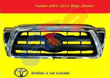 Picture of GRILLE 05-11 W/SR5 CHR/BLK TACOMA