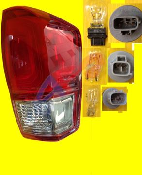 Picture of TAIL LAMP 16-17 RH RED/SMOKE TRD SPORT, OFF ROAD TACOMA