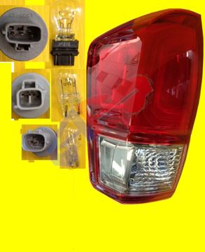 Picture of TAIL LAMP 16-17 LH RED/SMOKE TRD SPORT, OFF ROAD TACOMA