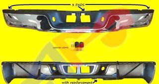 Picture of STEP BUM 07-13 RR CHR ASSY W/O SENSOR W/O SPORT-PKG