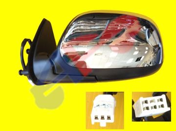 Picture of MIRROR 00-04 LH CHR PWR MAN-FOLD REG,ACES CAB TUNDRA