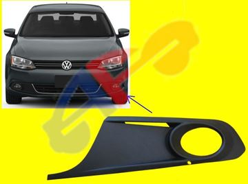 Picture of BUM GRILLE COVER 11-14 LH OUTER W/FOG LAMP SDN JETTA/13-14 HYBRID
