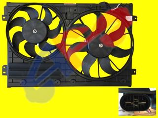 Picture of COOLING FAN 09-10 2.0L DIESEL(05-07 1.9L) SDN JETTA