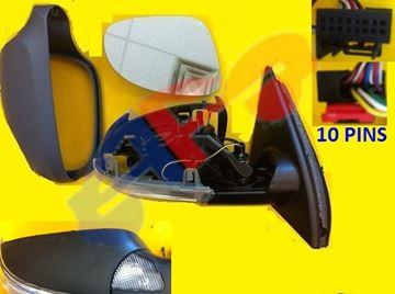 Picture of MIRROR 06-07 RH PTD PWR HT W/SIG W/PDL W/MEM W/O DIMMER MAN-FOLD PASSAT(OE COMES W/AUTO DIMMING)