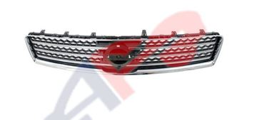 Picture of GRILLE 09-14 CHR/BLK W/O SPORT MAXIMA