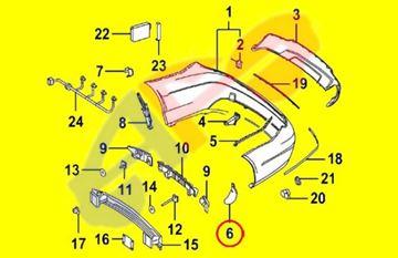 Picture of BRACKET 12-14 RR RH FILLER W/SPORT C-CLASS