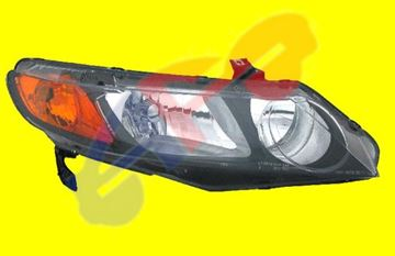 Picture of HEAD LAMP 06-08 RH SDN CIVIC