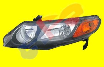 Picture of HEAD LAMP 06-08 LH SDN CIVIC