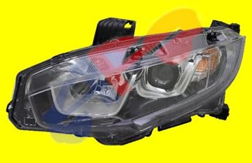 Picture of HEAD LAMP 16-18 LH HALOGEN USA-BUILT SDN/CPE(19-20 1.5L SI-MODEL SDN/19-19 SI-MODEL CPE)/17-18 H/B CIVIC