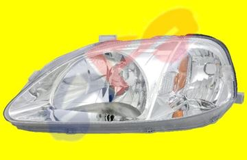 Picture of HEAD LAMP 99-00 LH SDN/CPE CIVIC