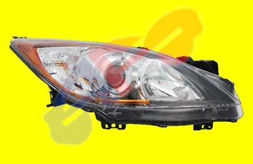Picture of HEAD LAMP 10-13 RH HALGN 5 SPEED TRANS MZ3