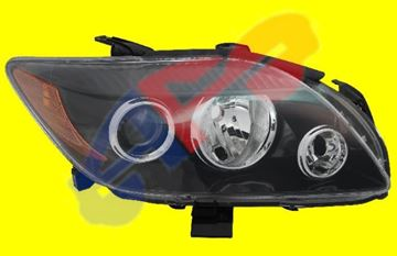Picture of HEAD LAMP 08-10 RH W/PROJECTOR ROUND CHR BLINKER LOW BEAM SCION TC