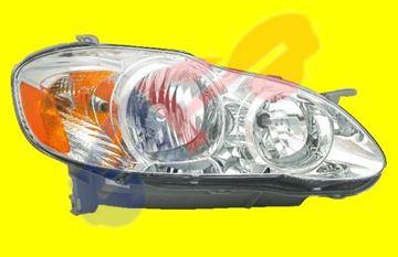 Picture of HEAD LAMP 03-08 RH LE MODEL COROLLA