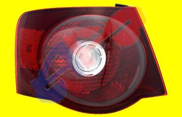 Picture of TAIL LAMP 08-10 LH DARK LENS JETTA