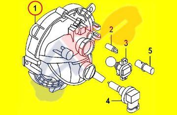 Picture of DAYTIME RUNNING LAMP 14-19 LH HALOGEN W/FOG HB/15-19 4DR/16-19 CONV/CLUBMAN COOPER