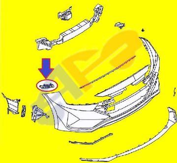 Picture of =HYEL08-19B1 -----> BRACKET 19-21 FT RH SIDE MOUNTING USA BUILT SDN ELANTRA