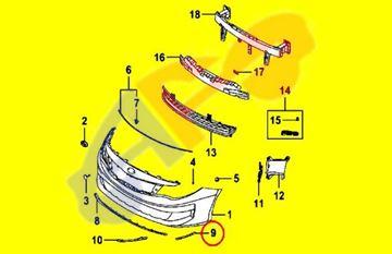 Picture of =KAOP08-16A2 ---> BRACKET 16-18(N-HYBRID) FT LH UNDER H/L KOREA-BUILT OPTIM