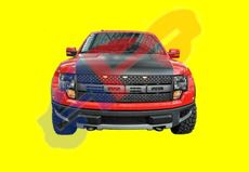 Picture of GRILLE 10-14 BLK W/O CAMERA SVT RAPTOR