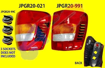Picture of TAIL LAMP 99-01 RH G-CHEROKEE