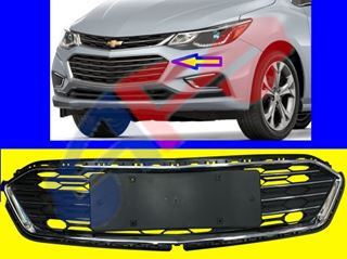 Picture of BUM GRILLE (PERFORMANCE) 16-18 CENTER W/O RS PREMIER SDN CRUZE