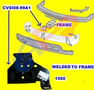 NEW BUMPER BRACKET FRONT RIGHT FITS 2000-2006 GMC YUKON 12474013