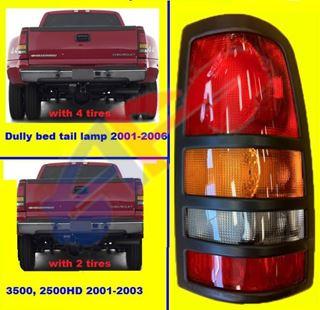 Taillight Tail Lamp Brake Passenger Side Right RH for Chevy Silverado GMC Sierra