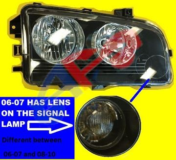 Picture of HEAD LAMP 06-10 RH CHARGER