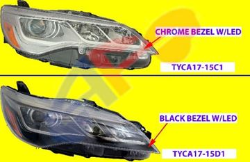 Picture of HEAD LAMP 15-17 RH LED BLK CAMRY XSE