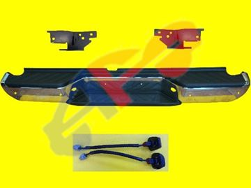 Picture of STEP BUM 13-19 RR ASSY CHR W/SENSOR FRONTIER