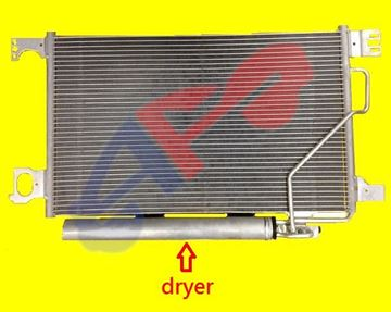 Picture of A/C COND 06-09 W/DRYER C-CLASS/CLK-CLASS