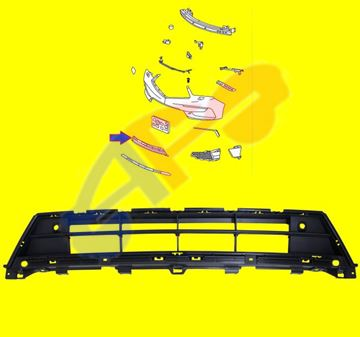 Picture of BUM GRILLE 17-20 COVER MDX