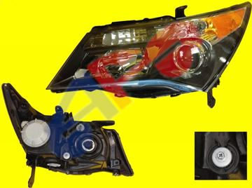 Picture of HEAD LAMP 07-09 LH BASE AC MDX