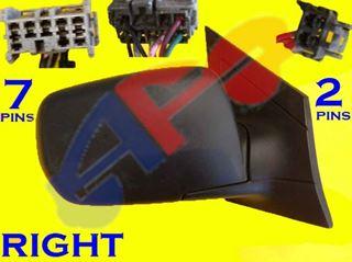 Picture of MIRROR 01-06 RH PTD PWR HT MAN-FOLD MDX