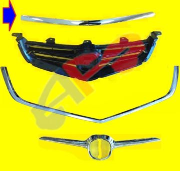 Picture of MOULDING, HOOD 04-05 ACURA TSX