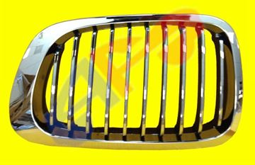 Picture of GRILLE 99-03 LH TO 3-03 FRAME-CHR/IN-CH CPE/CONV 3 SERIES