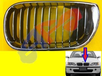 Picture of GRILLE 02-05 LH ALL-CHR SDN/WGN 3 SERIES