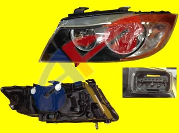 Picture of HEAD LAMP 06-08 LH SDN/WGN HALOGEN=THE REFLECTOR IS YELLOW BMW3S