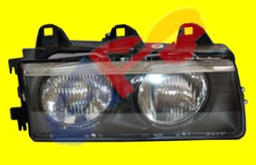 Picture of HEAD LAMP 92-98 RH BMW3S