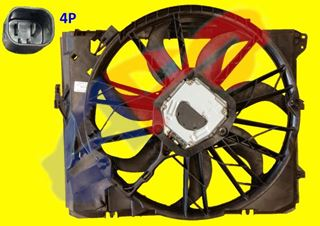 Picture of COOLING FAN 06-11 AT 2.5L/3.0L SDN 3S/08-13 128I 1S