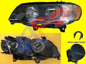 Picture of HEAD LAMP 00-03 LH W/WHITE SIGNAL XENON BMWX5