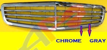 Picture of GRILLE 08-11 CHR/GRY W/O SPORT W/O AMG C-CLASS